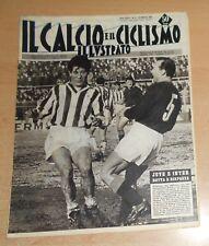 IL CALCIO E IL CICLISMO ILLUSTRATO  N° 8  1963  JUVE-INTER ORIGINALE  !!!!!