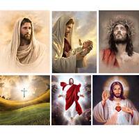 5D Diamond Painting Jesus Christ Religious Theme Cross Stitch Kit DIY Craft Gift
