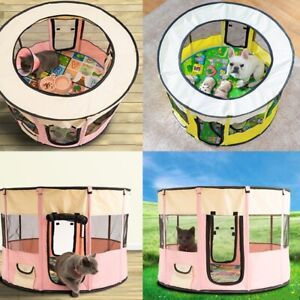 Removable Pet House Oxford Cloth Crate Room Playing Exercise Dog Cat House