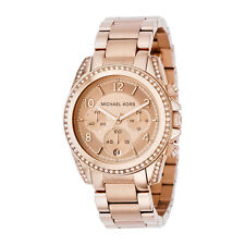 Reloj Watch Michael Kors Blair Glitz MK5263 Mujer Women Gold Stainless NEW 42mm