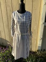 Creative Co-Op Cotton Gingham Maddie Dress Size M NWT