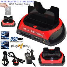 2.5″ 3.5″ IDE SATA OTB USB 2.0 HDD Dock Docking Station External Hard Drive UK