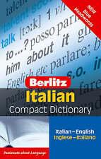 Italian Berlitz Compact Dictionary by Berlitz Publishing Company (Paperback, 2006)