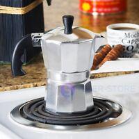 Strove Pot Espresso Cuban Moka Coffee Maker Cafetera Cubana Italiana.