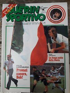GUERIN SPORTIVO=N.48 1977=TANGERINE DREAM=I RIBELLI=FILM DEL CAMPIONATO