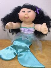 RARE Asian Mermaid Cabbage Patch girl  Doll