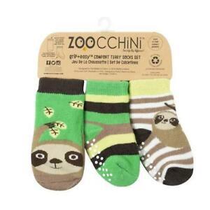 Zoocchini Sock Set (3 Pack) 0-24 months