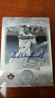 2004 DAVE WINFIELD  Auto /35  SP #294 UD Timeless Teams  Short Print  !