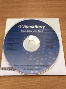 Original Genuine Blackberry Curve 8900 User Manual & CD Software Tools