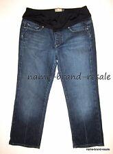 PAIGE MATERNITY Jeans Womens 30 Denim Panel Laurel Canyon Capri Capris DESIGNER