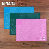 A3 A4 A5 Large Thick Self Healing Cutting Mat Double-Side Art Craft DIY