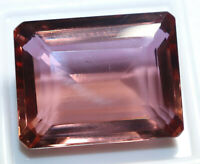 90.15 Ct Certified Natural Alexandrite Color Changing Emerald Cut Loose Gemstone