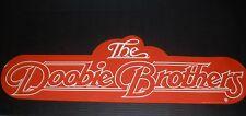 RARE DOOBIE BROTHERS 1980 VINTAGE ORIG MUSIC RECORD STORE PROMO DISPLAY POSTER