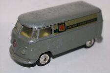 "Corgi Toys Volkswagen ""V&D Vroom & Dreesmann"" yellow interior very scarce model"