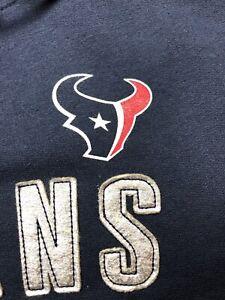 Majestic Houston Texans / Woman's / NFL Hooded Full Zip Fleece Jacket / NWT