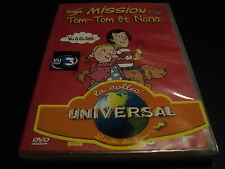 "RARE! DVD NEUF ""MISSION TOM-TOM ET NANA"" dessins animes"