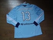 Sydney FC #13 Ognenovski 100% Original Australia Soccer Jersey XL 2013/14 BNWT