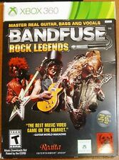 BandFuse: Rock Legends (Microsoft Xbox 360, 2013) BRAND NEW SEALED + CABLE