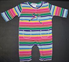 Beautiful Designer SONIA RYKIEL BEBE Girls Striped One Piece Outfit 3 Months