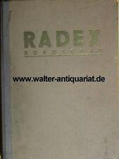 Radex-redondo mira año pasillos 1970 + 1971 DBM AG hierro cabaña acero hierro metal