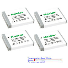 Kastar Replacement Battery for Canon NB-6L NB6LH CB2LY Canon PowerShot SX600 HS
