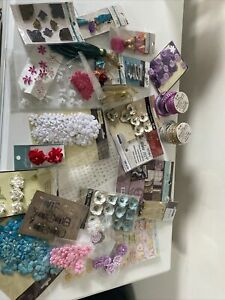 Lot of Crafting Scrapbooking Craft Supplies