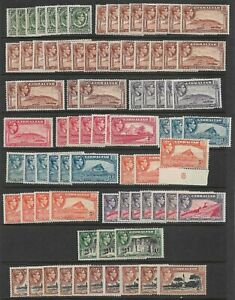 Gibraltar - KGVI 1938-51 x 81 *MINT HINGED* Values to 2/- (CV £500+)