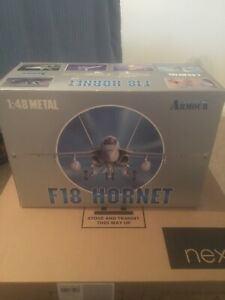 Franklin Mint Armour Collection 1:48 F-18 Hornet ART. 98016 US Marines