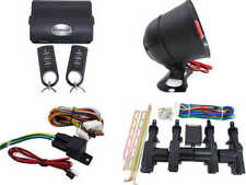 High Quality Car Alarm Remote Siren & Full Set Central Locking Kit 4 Doors 3