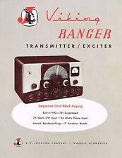 Johnson Viking Ranger Owners Manual Reprint + Brochure