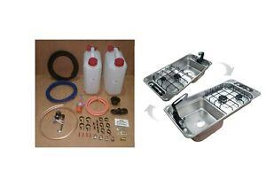 CAN SRL FL1401 Campervan Sink & Cooker / Hob Combi Unit kit Unit LH / RH 10L