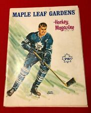 1967 Maple Leafs Original Program - Maple Leaf Gardens Hockey Magazine
