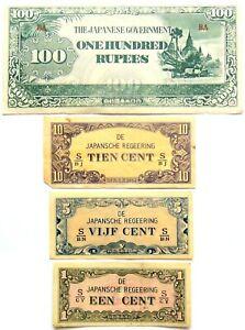 LOT ASSORTED WORLD PAPER MONEY #7