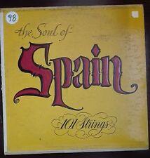 41286 LP 33 giri - The soul of Spain - 101 Strings - Somerset rec.