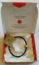 Men's Ciod Paolo Belli Italian Black Band Bracelet Wrist Band New In Box.