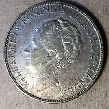 1932 Netherlands 2 1/2 Gulden Silver Coin