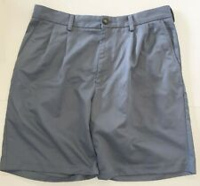 Izod Mens Casual Gray Shorts Size 34 for Summer Walking Golf any Occasion