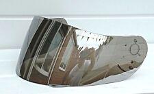 Aftermarket Lazer Fibra Pro Silver Mirror Visera Cromo Espejado Escudo