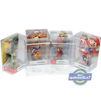 Amiibo Box Protectors for Nintendo STRONG 0.5mm Plastic Protective DISPLAY CASE