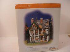 Dept 56 Snow Village Halloween Spooky Farmhouse With Box Retired 2004 #55315