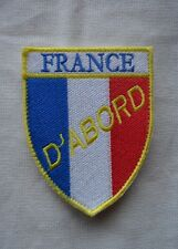 insigne militaire badge patch armée écusson drapeau BBR politique France d'Abord