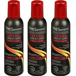 TRESemme Thermal Creations Volumizing Mousse 6.5 Oz Volume Boosting LOT OF 3