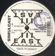Simulcast - Back To Basics - 1992 - 111 East Records - JB-0011 - Usa