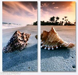 Modern Wall Art .Gallery Wrap. Ready to hang. 2 Panel. special offer save $15
