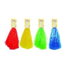 AMERICAN STYLE CHEERLEADER POM POMS FANCY DRESS ACCESSORY THEATRE DANCE GROUP