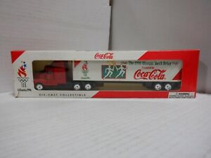 1996 Olympic Torch Relay Coca Cola Die-Cast Truck 011321MGL11