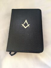 Masonic Holy Bible.  in Box. Lewis Masonic Bible - inscribed from 1988