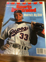 April 5, 1993 Larry Walker Montreal Expos Sports Illustrated CANADA NO LABEL