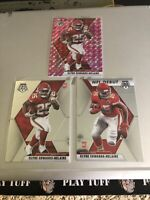 Clyde Edwards-Helaire 2020 Panini Mosaic Rookie Pink Prizm PLUS BASE & NFL DEBUT