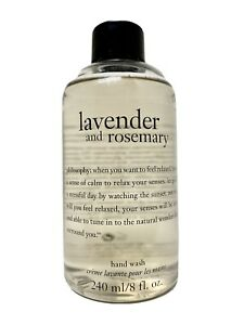 Lavender and Rosemary Perfumed Hand Wash 8 fl oz by Philosophy New Unboxed